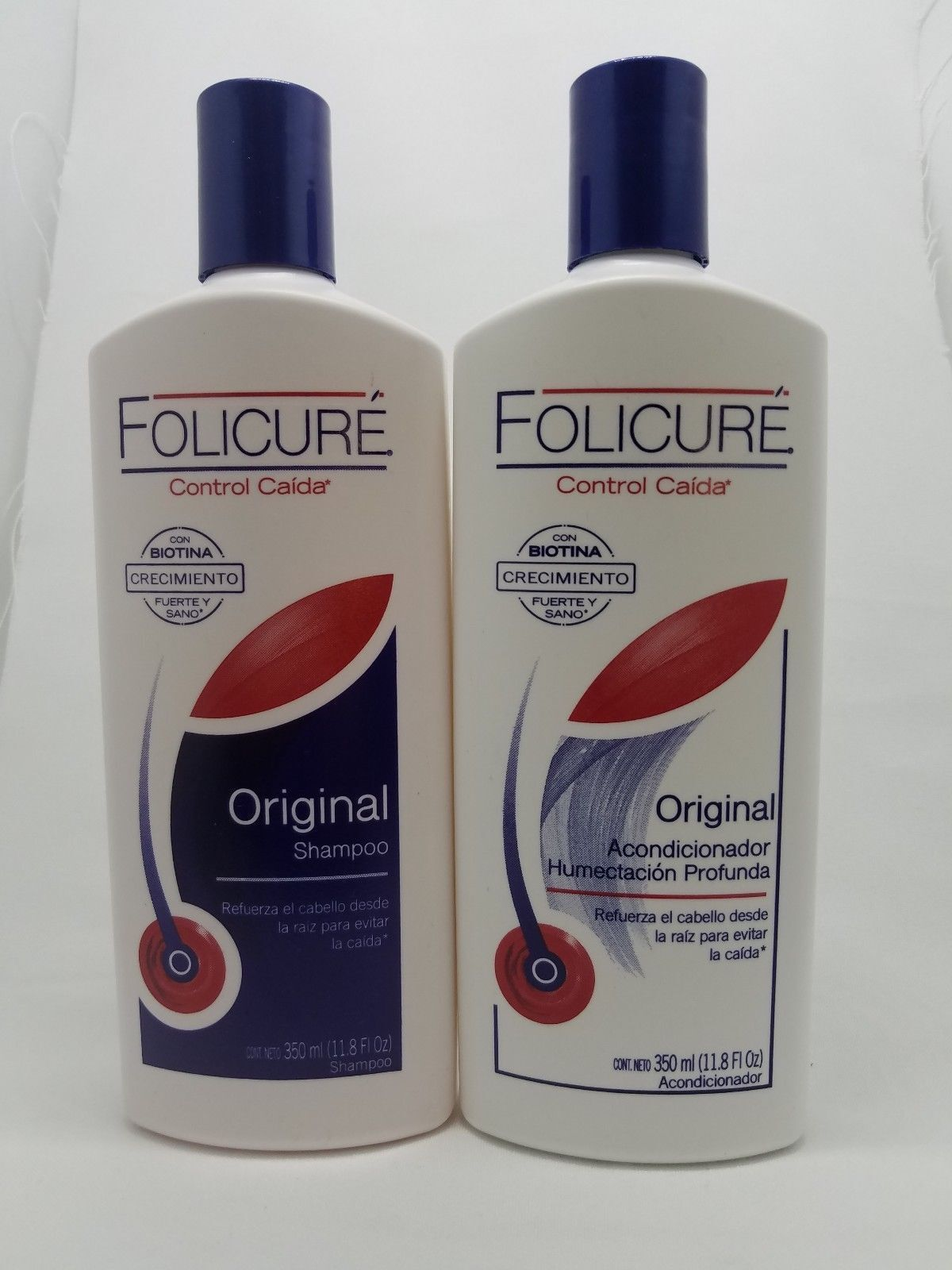 {1} FOLICURE SHAMPOO  AND {1} CONDITIONER FOR FULLER THICKER