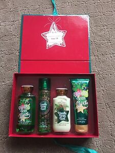 Brand new in box gift set... bath and body works