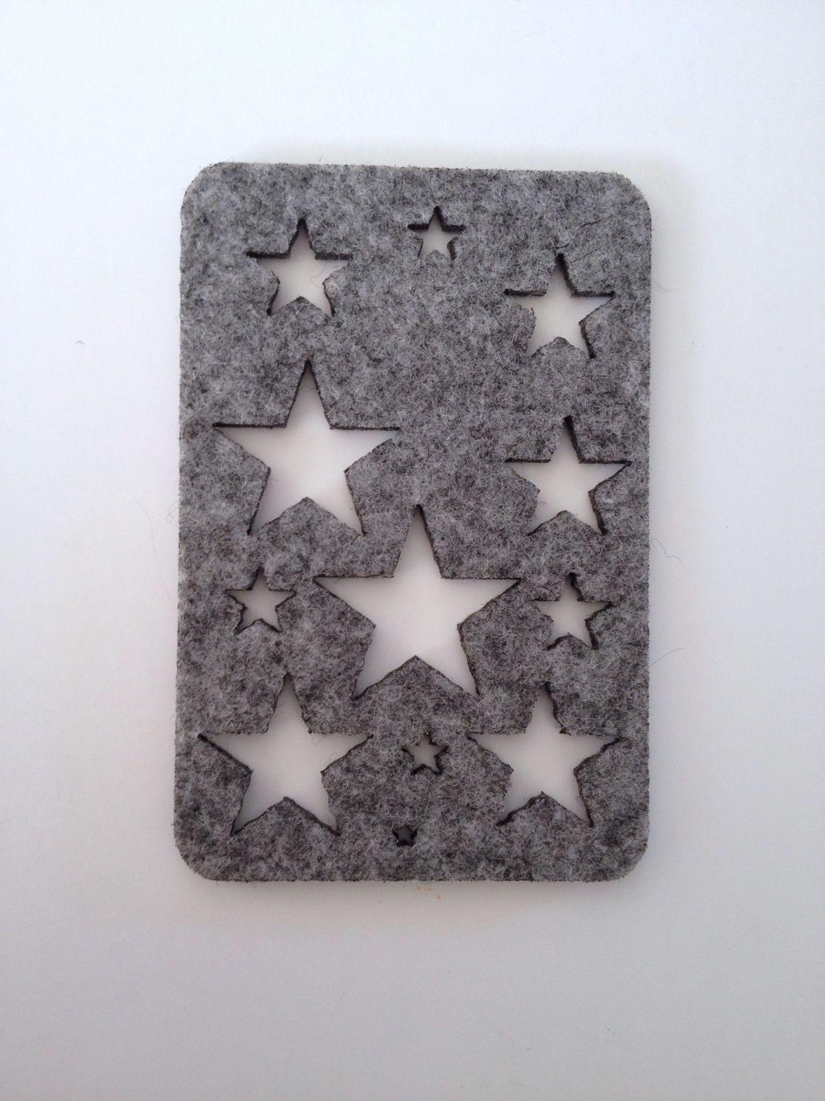 New Star Stencil Stencils Tools Supplies Paint Quilling Art Felt ...