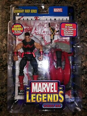 Marvel Legends Wonder Man with Yellow Jacket Legendary Rider Series 2005 Toy Biz