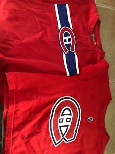 Kids Montreal Canadians T-shirt's size 4