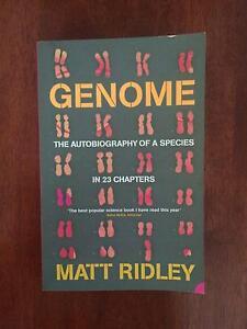 Genome: the autobiography of species Aberfoyle Park Morphett Vale Area Preview