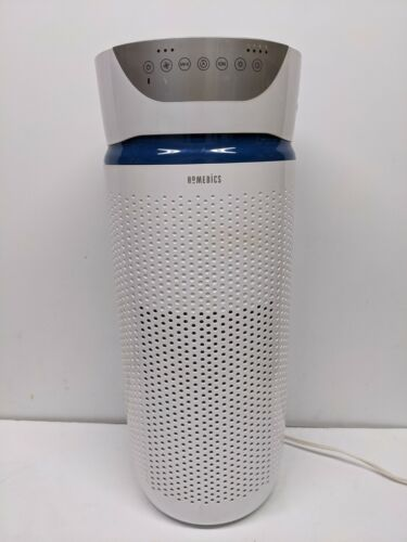 Homedics Total Clean 5-in-1 Tower Air Purifier for Large Rooms - White