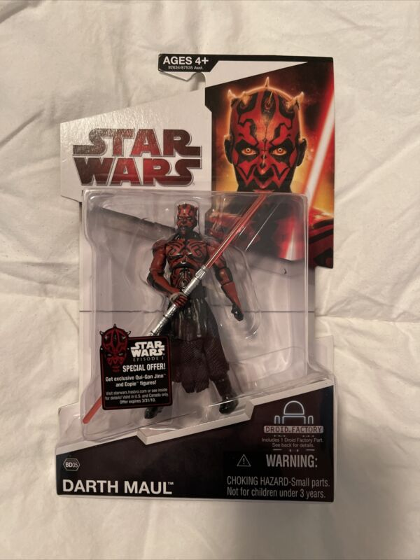 Star Wars Legacy Collection DARTH MAUL BD05 Droid Factory NEW 2009