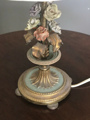 Antique French Bronze Lamp