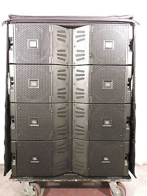 JBL VTX V20 and S28 turn key system with Crown HD amps in Crown V Racks