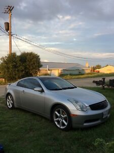 2003 Infiniti g35 coupe 6mt brembo package