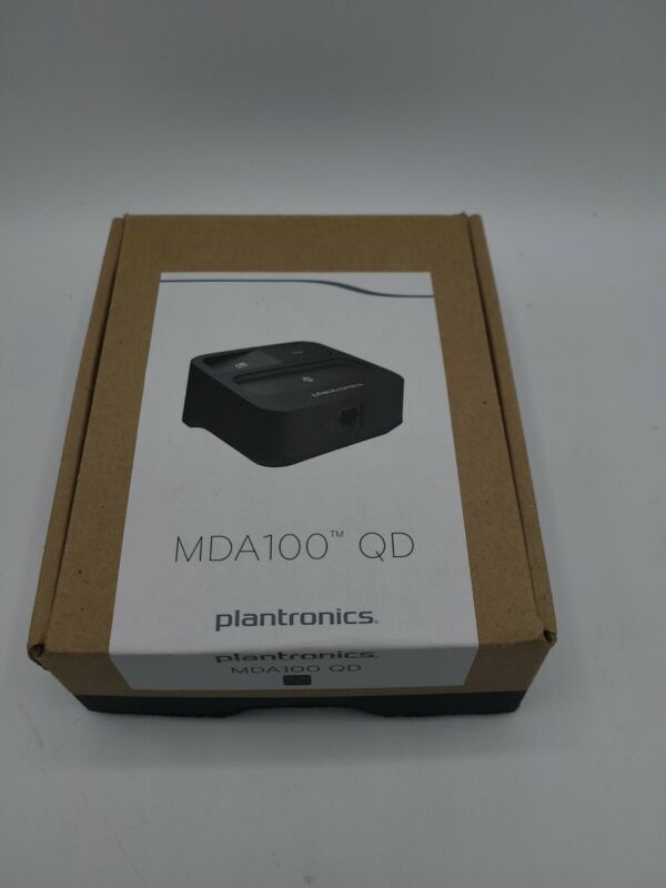 Plantronics MDA100 QD Deskphones to Softphones & PC USB Adapter Switch 205255-01