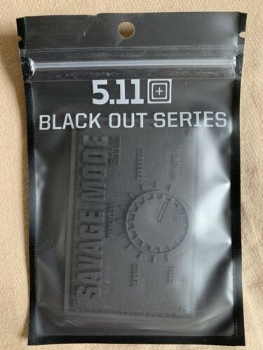 5.11 Tactical Savage Mode Patch - Black Out Series