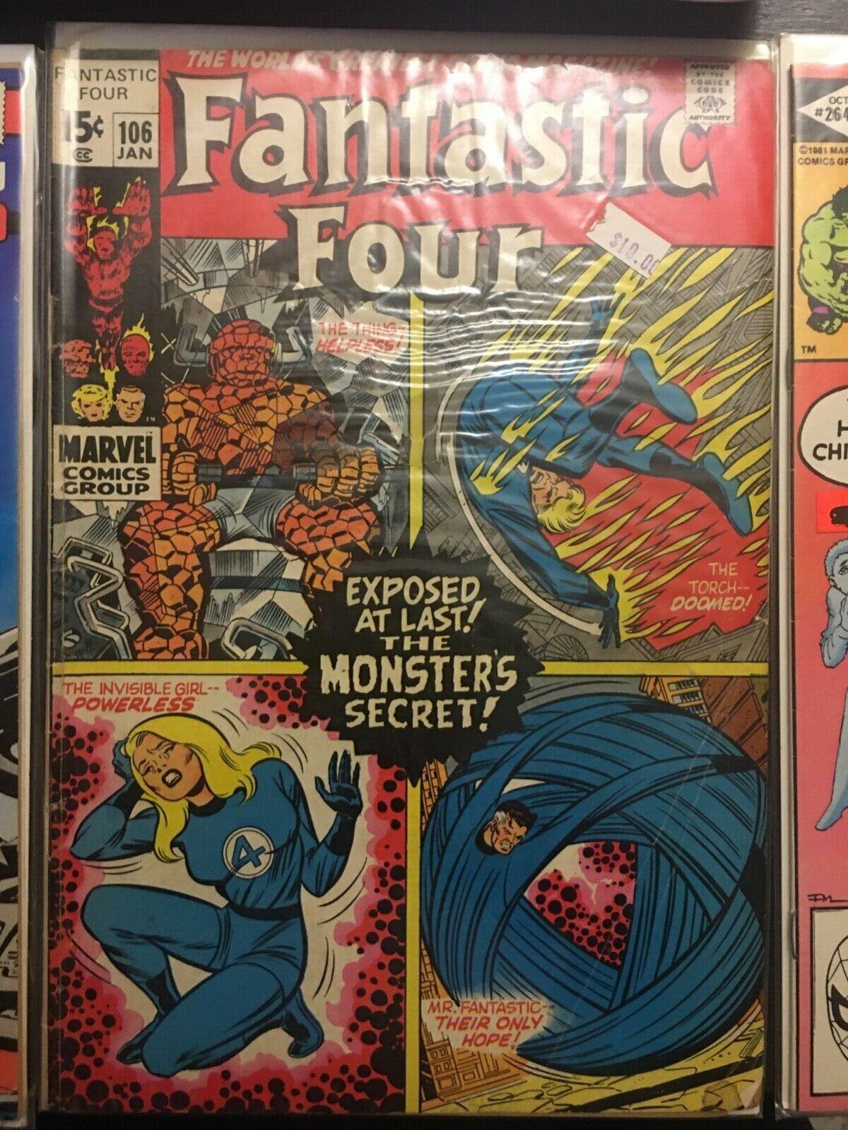 Vintage Marvel Comic Book Lot - $21.40
