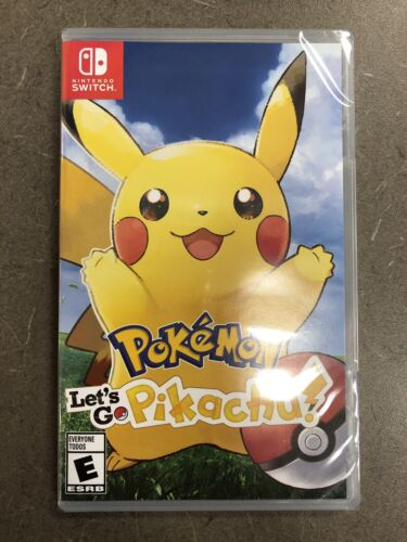 Pokemon: Let's Go, Pikachu!! Nintendo Switch NEW FACTORY SEA