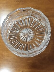 Solid crystal bowl beautiful item