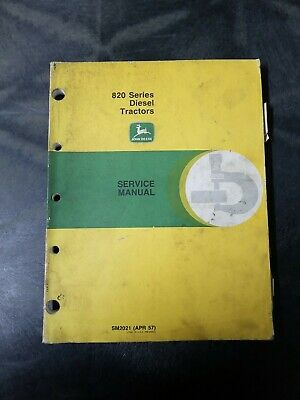 John Deere 820 Series Diesel Tractors Service Manual