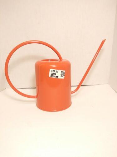 Orange  Enamel Metal Watering Can