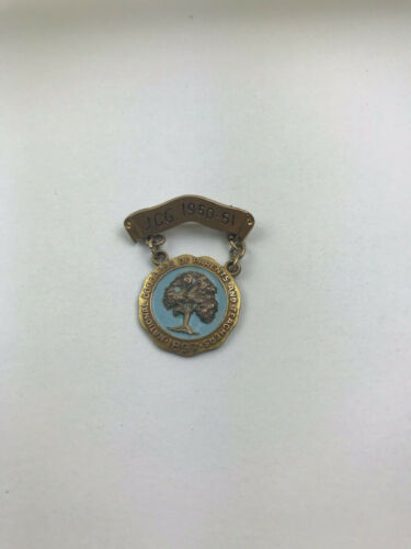 1950-51 National Congress of Parents and Teachers 1897 Enamel Badge Pin