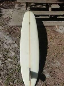 Longboard noserider log Gato heroi playdate 9'2