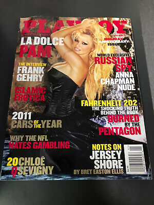 Playboy Magazine January 2011 (Complete) Anna Chapman, Frank Gehry, Pam Anderson