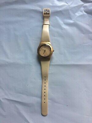 "2001 Gold Swatch Irony ""Falling Star (Gold)"" Women's Watch - Works"