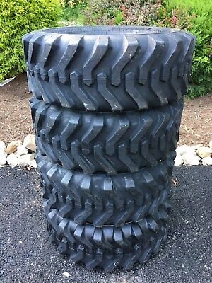 4 New Camso Sks332 10-16.5 Skid Steer Tires For Bobcat Catjohn Deere More