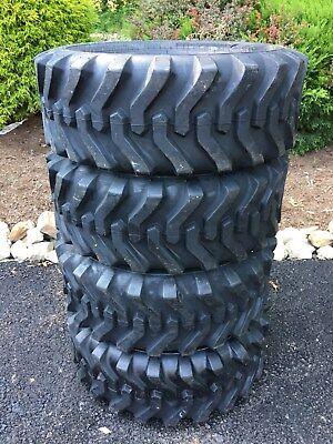 4 NEW Camso sks332 10-16.5 Skid Steer Tires For Bobcat, CAT,John Deere & more