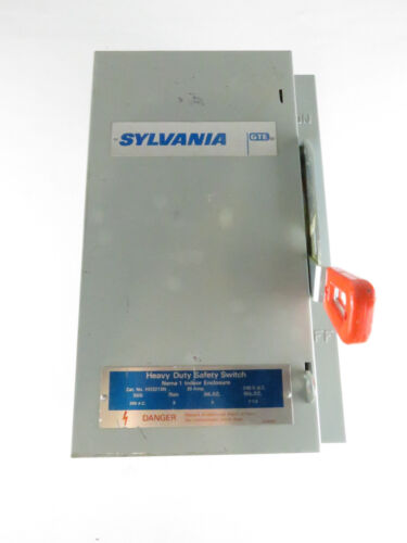 NNB SYLVANIA GTE HD321SN HEAVY DUTY SAFETY SWITCH