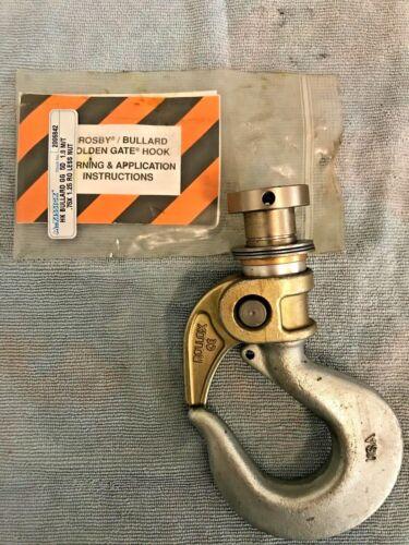 Crosby Bullard 2.5 Ton Hoist Hook with Rollox