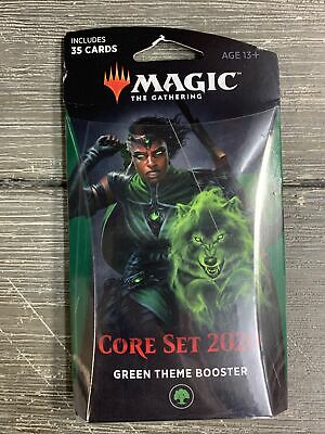MTG Magic the Gathering Core Set 2020 Theme Booster Green