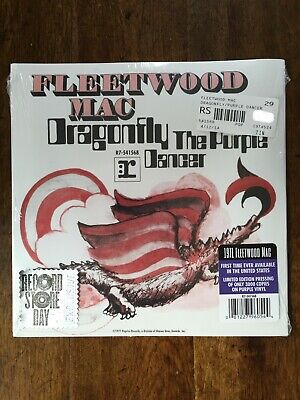 Fleetwood Mac Dragonfly Record Store Day 2014 Vinyl 45rpm RSD Purple Vinyl](Dragonfly Store)
