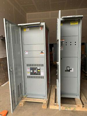 Ssf16g216 Ge 1600 Amp Main Breaker Panelboard 1600a 208120v 3p 4w Nema 3r Relt