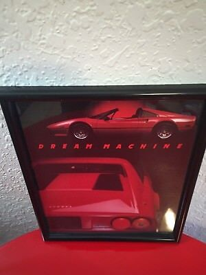 Ferrari Dream Machine Framed Print Wall Art 308 Dream Framed Art Print