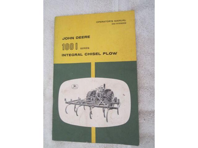 John Deere 100 Chisel : John Deere 100 Series Parts - John
