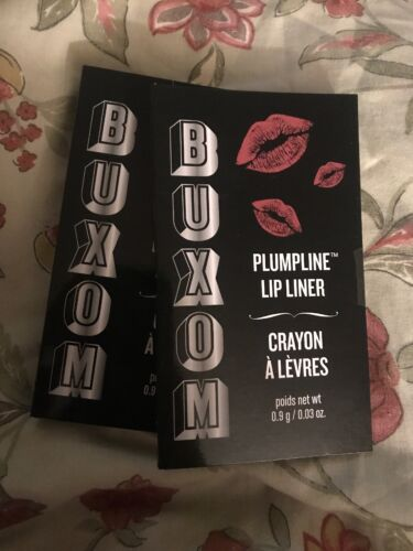 2 x Buxom Plumpline Lip Liner 0.9g/0.03oz Each  Hush Hush Tr