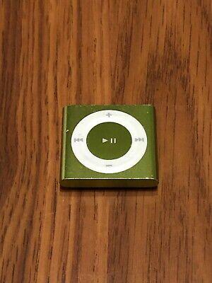 Apple iPod 2GB 4th Generation - Green Good Condition!