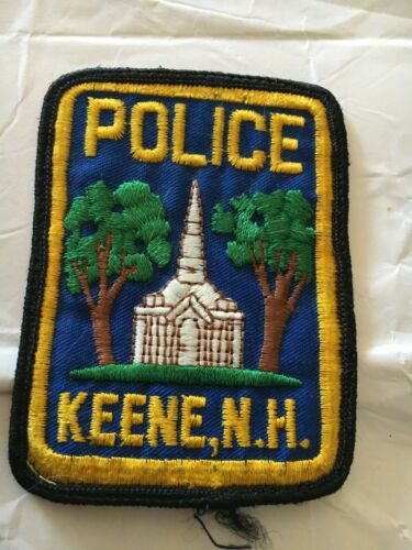 Keene New Hampshire Vintage Police Patch Version 2