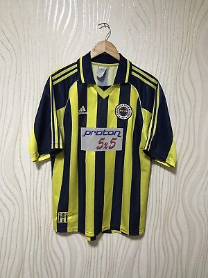 FENERBAHCE 1999 2000 HOME ADIDAS FOOTBALL SOCCER SHIRT JERSEY CAMISETA image