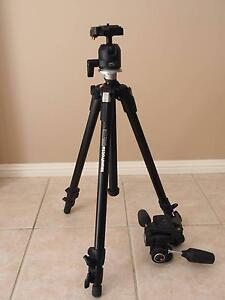 Manfrotto 190XDB tripod + 486RC2/804RC2 ballheads Kellyville The Hills District Preview