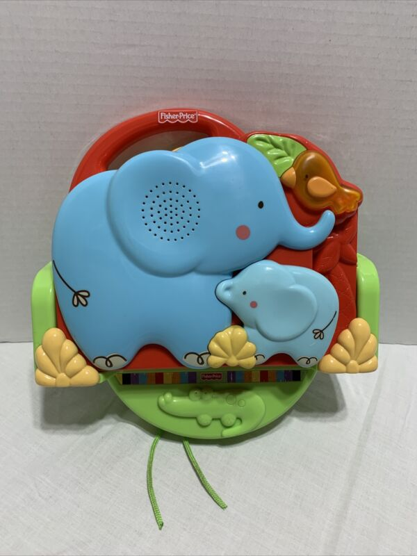 Fisher Price LUV U ZOO Crib N Go Projector Soother T6338 Tested Works