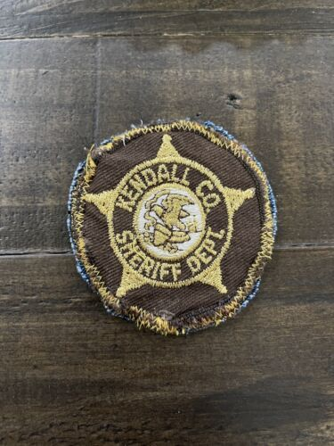 Vintage Kendall County, Illinois Sheriff Patch, IL Patch