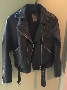 ALL SAINTS LEATHER JACKET SIZE 2