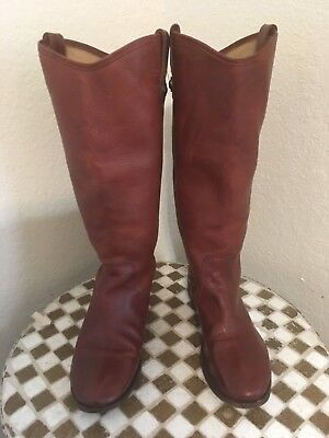 b007a388760a0 FRYE BROWN LEATHER RIDING WINTER BOOTS 8 B