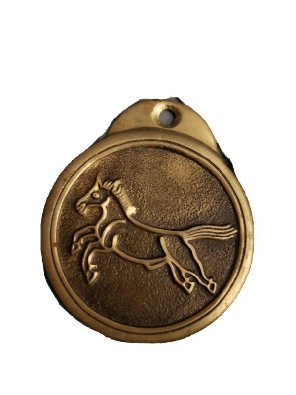 Vintage Chinese Horse Medallion