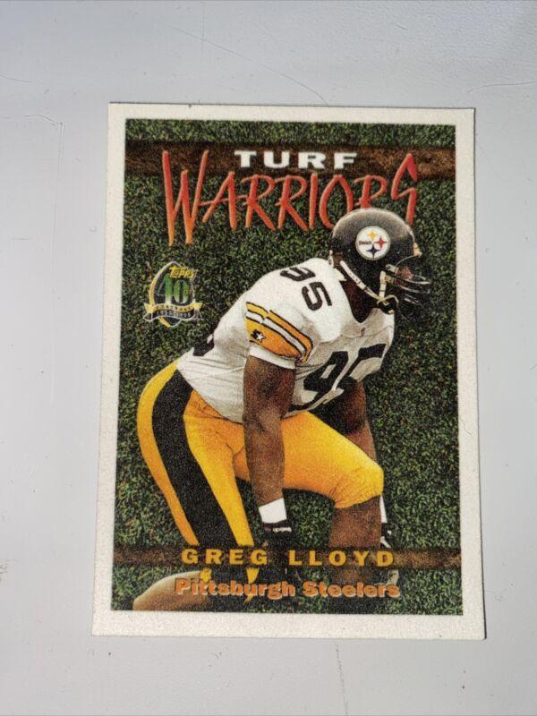 1990 Pro Set Football #272 Greg Lloyd Pittsburgh Steelers