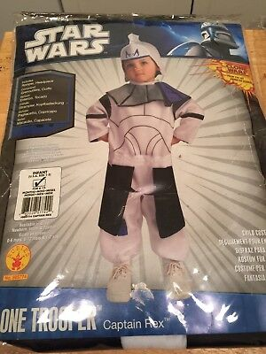 Star Wars Clone Wars Clone Trooper Captain Rex Costume Infant 6-12 Month Cosplay (Clone Trooper Cosplay)