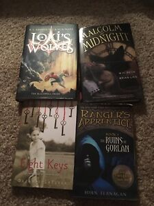 4 books all in great condition