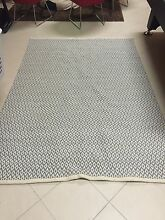 Blue & Cream Rug! ** Stylish & Modern** Bolwarra Maitland Area Preview