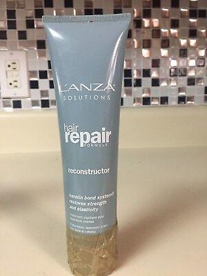 LANZA Solutions hair repair formula reconstructor 4.2 oz. 50% Full - Lanza Hair Repair