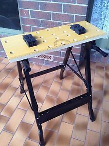 WORKBENCH, (FOLDING), PORTABLE. Hallett Cove Marion Area Preview