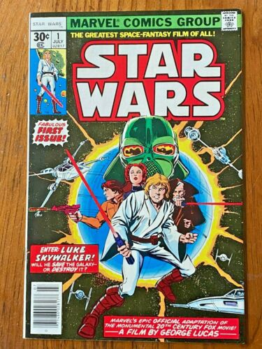 Star Wars 1 High Grade  Marvel Film Adaptation