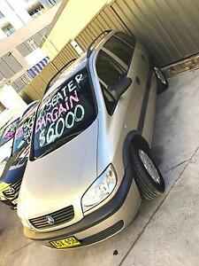 CHEAP 7 SEATER LONG REGO 2004 Holden Zafira Wagon ECONOMICAL Granville Parramatta Area Preview
