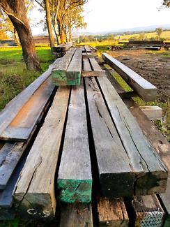 Recycled Timber, Harwood Posts & Beams